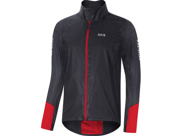 GORE WEAR C5 Gore-Tex Shakedry 1985 Vis Jas Heren, black/red